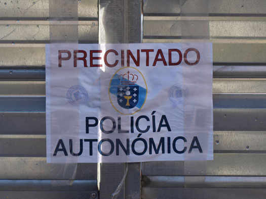 Paralización das obras no Parque Rosal�a de Lugo